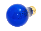 Bulbrite 25W 120V A19 Transparent Blue E26 Base