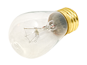 Bulbrite 11W 130V S14 Clear Sign or Indicator Bulb, E26 Base