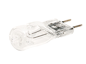 Bulbrite 50W 120V T4 Clear Halogen 8mm Bipin Bulb