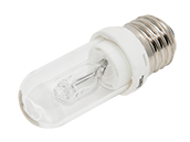 Bulbrite 75W 120V T8 Clear Halogen Bulb