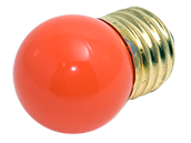 Bulbrite 7.5W 130V S11 Orange Sign E26 Base