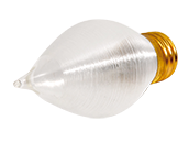 Bulbrite 25W 130V Satin ThreadSpun Antique Decorative Bulb, E26 Base