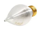 Bulbrite 40W 130V Satin ThreadSpun Antique Decorative Bulb, E26 Base
