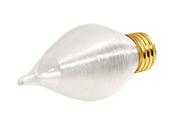 Bulbrite 60W 130V Satin ThreadSpun Antique Decorative Bulb, E26 Base