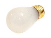 Bulbrite 11W 130V S14 Frosted Sign or Indicator Bulb, E26 Base