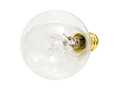 Bulbrite 10W 130V G12 Clear Globe Bulb, E12 Base