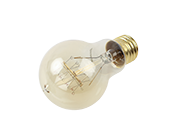 Bulbrite 25W 120V A19 Nostalgic Decorative Bulb, E26 Base