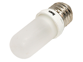 Bulbrite 100W 120V T8 Frosted Halogen Bulb