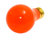 Bulbrite 40W 120V A19 Ceramic Orange E26 Base