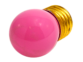 Bulbrite 7.5W 130V S11 Pink Sign E26 Base