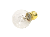Bulbrite 10W 130V S11 Clear Sign or Indicator Bulb, E17 Base