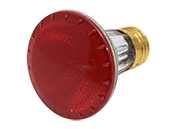 Bulbrite 50W 120V PAR20 Halogen Red Bulb