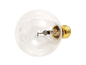Bulbrite 40W 130V G12 Clear Globe Bulb, E12 Base