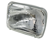 Philips H6054 Standard Sealed Beam Auto Bulb (Pack of 2)