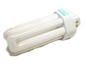 Bulbrite 26W 4 Pin GX24q3 Cool White Triple Twin Tube CFL Bulb