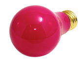 Bulbrite 60W 120V A19 Ceramic Pink E26 Base