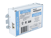 Advance Electronic Ballast Optimized to Ignite Two 36W Germicidal PL-L Style 4-Pin CFLs.