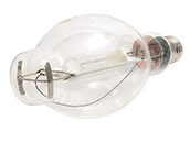 Plusrite 1000W Clear BT37 Cool White Metal Halide Bulb