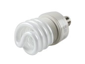 TCP 27W 277V Warm White Spiral CFL Bulb, E26 Base