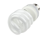 TCP 14W Warm White Spiral CFL Bulb, E26 Base