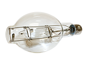 Plusrite 400W Clear BT37 Protected Cool White Metal Halide Bulb