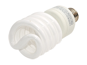 TCP 27W Warm White Spiral CFL Bulb, E26 Base