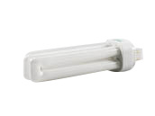 Bulbrite 18W 4 Pin G24q2 Cool White Quad Double Twin Tube CFL Bulb
