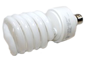 TCP 42W 277V Bright White Spiral CFL Bulb, E26 Base