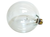 Bulbrite 25W 125V G40 Clear Globe Bulb, E26 Base
