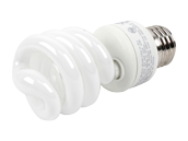 TCP 14W Neutral White Spiral CFL Bulb, E26 Base