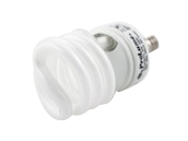 Halco 13W Neutral White Spiral CFL Bulb, E12 Base