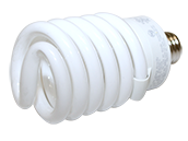 TCP 42W Long Life High Lumen Warm White Spiral CFL Bulb
