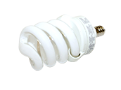 TCP 13W Warm White Spiral CFL Bulb, E12 Base