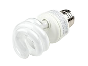 TCP 9W Cool White CFL Bulb, E26 Base