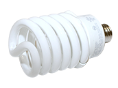 TCP 42W Long Life High Lumen Neutral White Spiral CFL Bulb