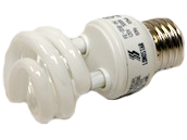 Long Star 9W Bright White CFL Bulb, E26 Base