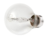 Bulbrite 43W 120V A19 Halogen Clear Bulb (Pack of 2)