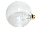 Bulbrite 40W 125V G40 Clear Globe Bulb, E26 Base