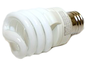 Philips 13W Warm White T2 Spiral CFL Bulb, E26 Base