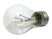 Philips 40W 120V A15 Clear Appliance Bulb, E26 Base