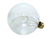 Bulbrite 100W 125V G40 Clear Globe Bulb, E26 Base