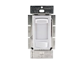 Lutron Skylark Contour 600W, 120V Incandescent/Halogen 3-Way Slide Dimmer, White