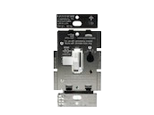 Lutron Diva 150W, 120V LED/CFL Slide Dimmer and Toggle On/Off 3-Way Switch, White