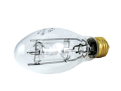 Sylvania 70W Clear ED17 Protected Soft White Metal Halide Bulb