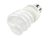 TCP 14W Bright White Spiral CFL Bulb, E26 Base