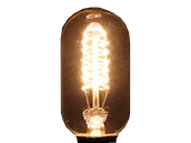 Bulbrite 40W 120V T14 Nostalgic Decorative Bulb, E26 Base
