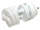 Bulbrite 13W Dimmable Warm White GU24 Spiral CFL