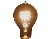 Bulbrite 40W 120V A23 Nostalgic Decorative Bulb, E26 Base