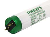 Philips 25W 48in Long Life T8 Bright White Fluorescent Tube (Case of 30)