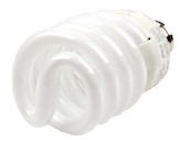 TCP 23W Warm White Spiral CFL Bulb, E26 Base